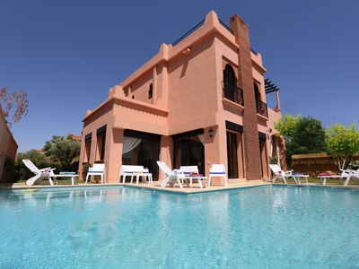 Photo for LUXURY VILLA WITH VIEW OF THE ATLAS, HEATED PRIVATE POOL (OPTIONAL)