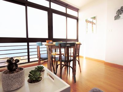Photo for Open Loft & Sea Views 700m from Natural Pools - Apartment for 3 people in San Cristobal de La Laguna