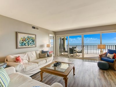 Photo for RENOVATED IN 2017! 3/2 OCEANFRONT CONDO! Sleeps 6. VERY STUNNING.