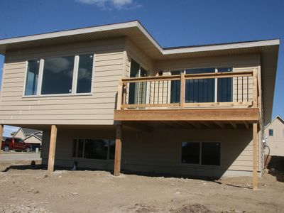 Photo for Okoboji New 3 Bed. Cabin at Bridges Bay Resort- Includes 6 passes to Waterpark!