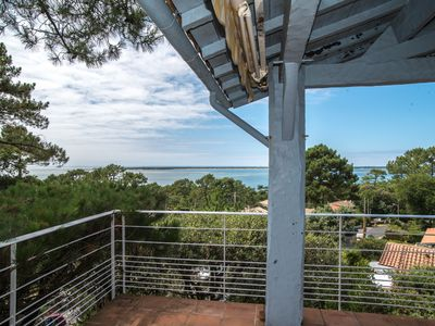 Photo for PYLA Charming house, panoramic view of the Arcachon basin + Cap Ferret