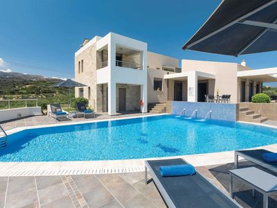 Photo for 4 bedroom Villa, sleeps 8 with Pool, Air Con, FREE WiFi and Walk to Shops