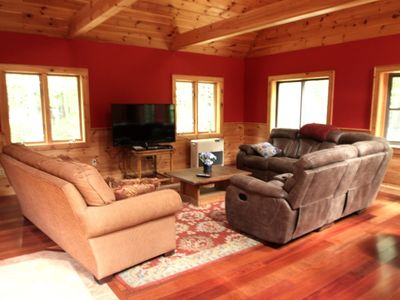 Photo for MOOSE POND KNIGHT'S HILL- SLEEPS 19 - THIS PLACE HAS IT ALL!