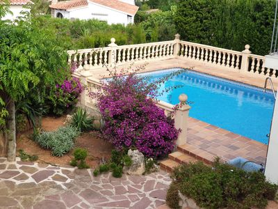 Photo for Villa with swimming pool, wonderful BBQ area and garage