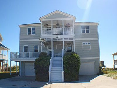 Photo for Perfect Shell -- An Oceanfront Home For Rent In North Topsail Beach, NC