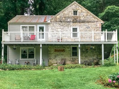 Photo for Special, Secluded on the River, 1815 house, Convenient to Shepherdstown