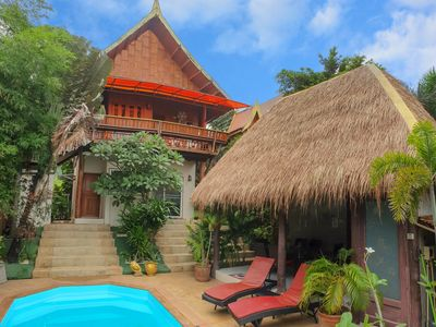 Photo for Villa Ayutthaya, private pool near the beach with sea view