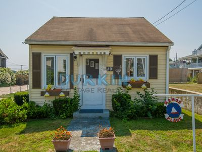 Photo for Charming Cottage, Two Blocks from Beach, Large Deck