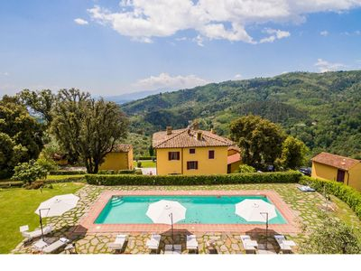 Photo for Beautiful villa situated in a panoramic position with views the wonderful city of Lucca