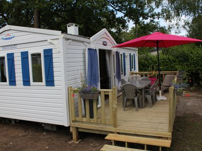 Photo for MOBILHOME 6 BEDS CAMPING 4 * May to November