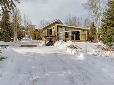 Photo for Beautiful remodeled lake home on Summit County's Bike Path!