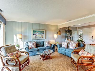 Photo for Quaint Cottagey Townhome With Tranquil Setting on Amelia Island Plantation!