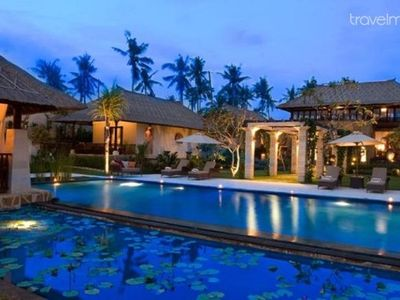 Photo for 5 Bedroom Balinese Beachfront Private Pool Villa in Canggu
