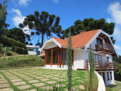 Photo for Beautiful mansion with a magnificent view and comfort! House with 3 beautiful chalets