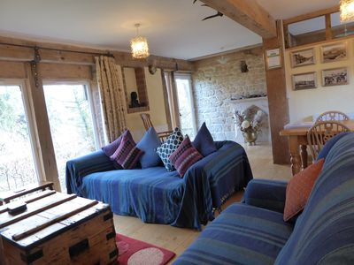 Photo for The Bothy: Pet friendly, private gardens & friendly farm animals. Sleeps 7.