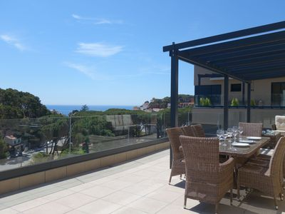 Photo for SPECTACULAR PENTHOUSE WITH AMAZING SEAVIEWS, PRIVATE POOL AND PARKING