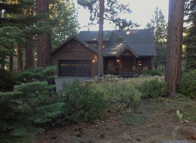 Beautiful Lake Davis Cabin is nestled in the woods near Lake Davis