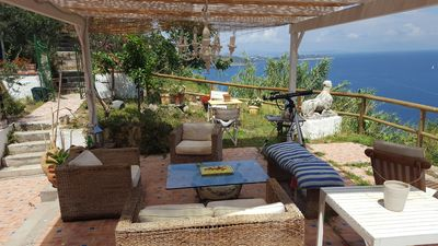 Photo for Casa Fammivento, a paradise overlooking the sea.