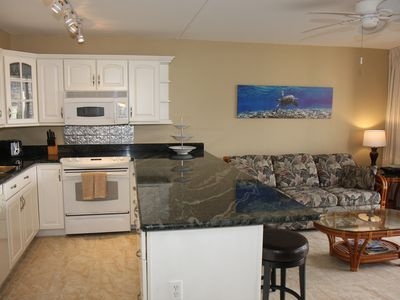 Photo for **Updated Waikiki Banyan, 1 bedroom, Sleeps 4, partial ocean view, walk to Beach