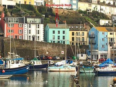 Photo for The Dragons Nest -  unique & quirky harbour side house with garden, parking & wi-fi