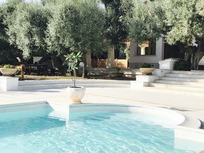 Photo for Villa with private pool and large green areas just minutes from the city center