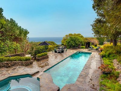 Photo for Incredible European Oceanfront Malibu Manor With Giant Pool, Waterfall, Hot Tub