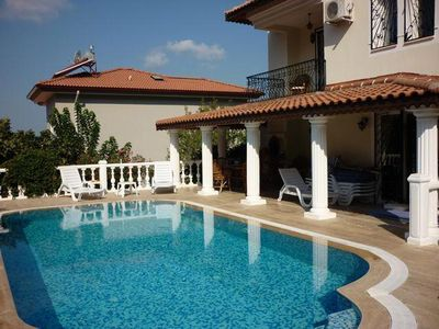 Photo for Spacious villa in excellent location in Ovacik. Sleeps 11
