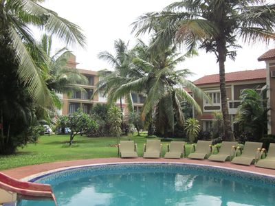 Photo for 6 BEAUTIFUL APARTMENTS  IN THE HEART OF CANDOLIM WITH POOL