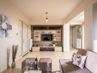 Photo for Modern space Sunshine Apartment for 5 in Koutouloufari village Hersonissos