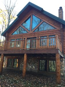 Photo for NOW BOOKING FOR SUMMER!  3 bed 3.5 bath Mountain Cabin Sleeps up to 10.