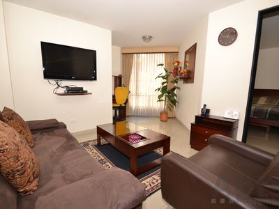 Photo for BEATRIZ - 1 Br.  Renovated Apartment with modern furniture - Chapinero Central