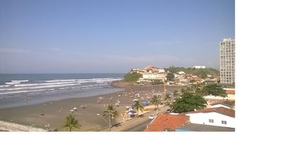 Photo for Beautiful Apt in front of the sea - Praia dos Sonhos