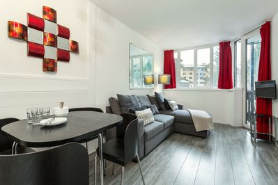 A central, one bedroom apartment, perfect for a couple or small group.