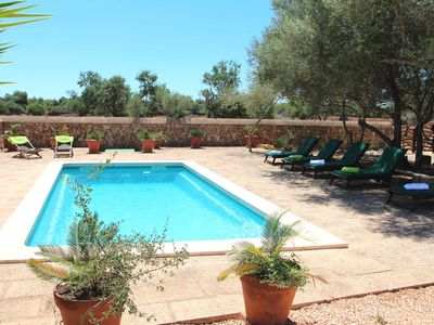 Photo for Charming country house, just minutes from Cala Pi