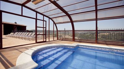 Photo for 9 bedroom Villa, sleeps 17 in Gironella with Pool and WiFi