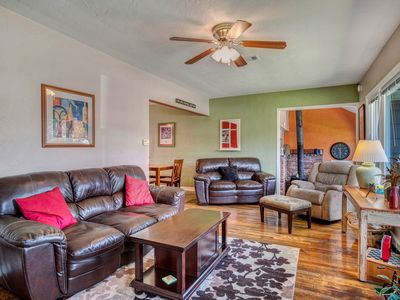 Photo for Ideally-located home that's great for families! Close to downtown! Dogs OK!