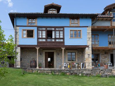Photo for Typical Asturian house near Covadonga, Cangas de Onis, beaches and mountains
