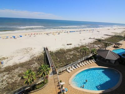 Photo for ALL SPRING RATES REDUCED BY 20%. BOOK FAST.WP704..  Gorgeous 3BD/2BA Condo with a fantastic Gulf view of the beach with lots of amenities.  Come relax!  Quote comes with one parking pass.