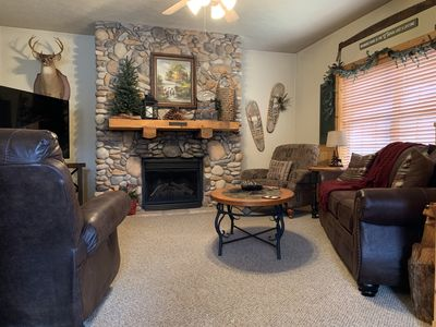 Photo for Cozy & Secluded 2 Bedroom Log Cabin in the Heart of Branson!