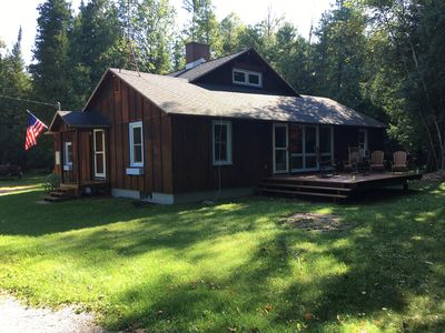 Photo for Top of North Lake Leelanau - Secluded Lake Cottage w/ Dock & Sandy Bottom