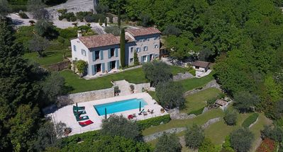 Photo for Luxury with great views, swimming pool and privacy on an olive grove