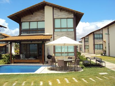 Photo for Luxurious bungalow by the sea with private pool.
