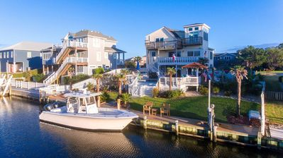 Photo for New Canal Front Listing at Old Nags Head Cove