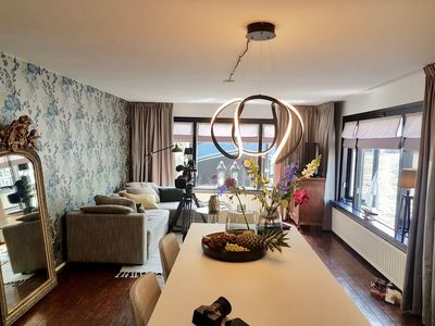 Photo for Fashionable one bedroom houseboat, sleeping up to four people, located close to the Leidseplein in A