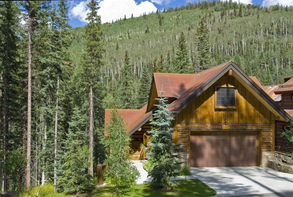 Mt vill telluride luxury ski in log house homeaway for Telluride colorado cabin rentals