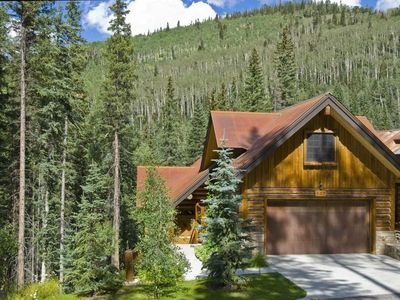 Photo for Mt. Vill Telluride Luxury Ski-in Log House-Cabin