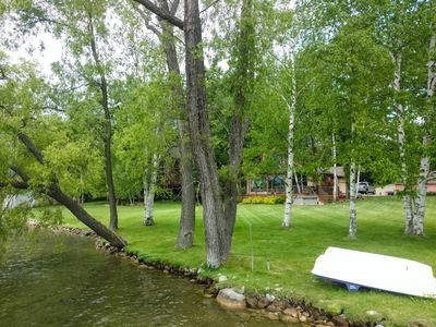 Photo for Gorgeous Clam Lake/torch Lake Home With Boat Dock Wifi Cable Sleeps up to9