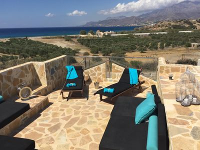 Photo for Luxury 2 Bedroom Contemporary Townhouse in Makrigialos, Crete
