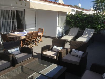 Photo for 2011 renovated bungalow with 60m2 terraces Luxury Apartment