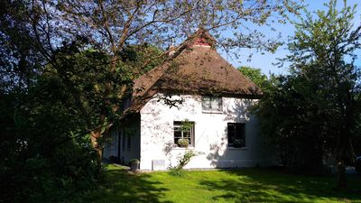 Photo for Newly renovated thatched cottage in the Baltic Sea - absolute secluded location